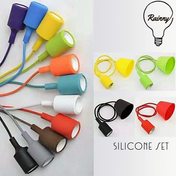 DIY Silicone bulb holder