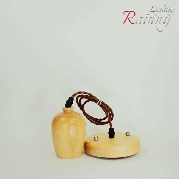 Wooden Bulb holder